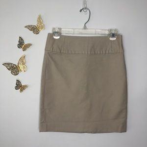 🦋🌙 Banana Republic - Beige Pencil Skirt
